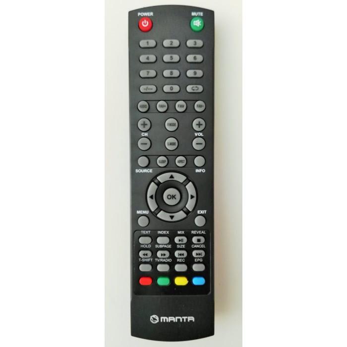 Mando de televisión MANTA LED1905 LED4901 - Nuevo
