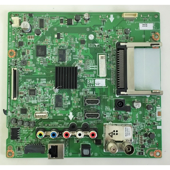 Placa base MAIN EAX66853404 - EBT64304705 para LG 32LH590U