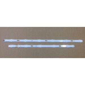 Tiras de LED para tv Samsung UE48JU6000K (BN96-34793A y BN96-34794A)