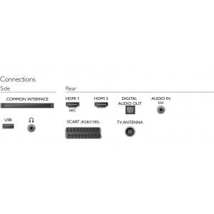 Televisión Phillips de 32¨ LED HD (32PHH4101)