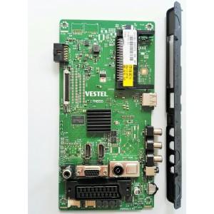 Placa de video Vestel (17MB55) para Televisión SYSTEM Y TELEFUNKEN