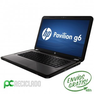 HP Pavilion G6 i3-2350M (2º) 2.30Ghz / 4Gb / 320Gb - Win 10