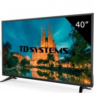 Televisión LED 40¨ TD SYSTEMS Full HD (K40DLM7F)