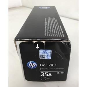 Cartucho de tóner HP 35A Original CB435A color Negro - NUEVO-