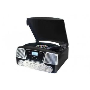 Tocadiscos Bluetooth CD JVC RD-F327B Negro - Nuevo -