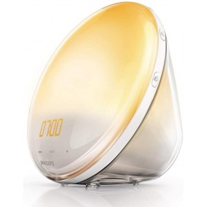 Philips Wake-up Light HF3520/01 Despertador de Luz LED - Simulación del Amanecer y del Atardecer