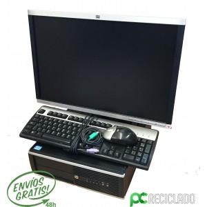 Ordenador completo - Equipo (HP 6200) + Monitor (22¨ HP LA2205WG)