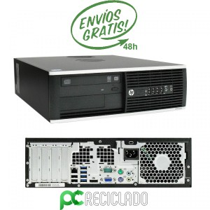 HP 8000 Elite SFF Intel Core2Quad 2.83Ghz/8Gb/250HD - Win 10