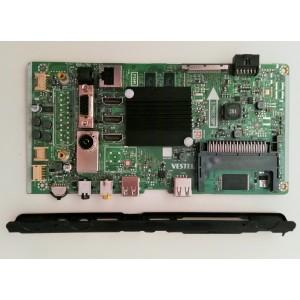 Placa base MAIN VESTEL 17MB130P para Telefunken AURUM 65 UHD