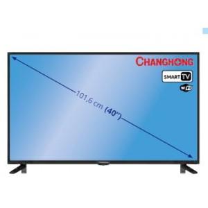 """Televisión CHANGHONG 40E3500ISX2 DE 40"""" HD, SMART TV"""