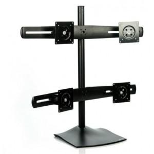 ERGOTRON DS100 33-324-200- Soporte ergonómico para 4 monitores.