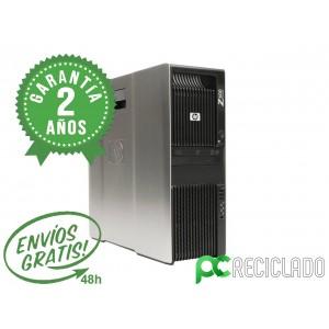HP WorkStation Z600 2.40Ghz/8GB/120Gb SSD - 1Tb / Quaro FX1800