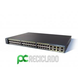 Cisco Catalyst WS-C2960G-48TC-L Managed Ethernet Switch