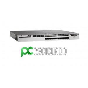 "Cisco Catalyst 3850 ""WS-C3850-12S"" 12 Port GE SFP IP Base + Rack Base"