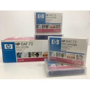CARTUCHO DE DATOS HP DAT 72 DATA CARTRIDGE 72GB - MODEL C8010A (LOTE 10 UNIDADES)