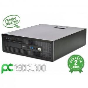 HP EliteDesk 800 G1 i5 (4º) 3.30Ghz / 4Gb / 500Gb / Win 10