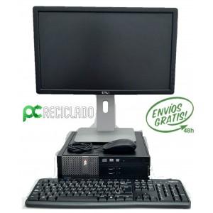 """Ordenador completo - Equipo (Dell Optiplex 3020 Pentium) + Monitor 20"""" (Dell) + ratón + teclado"""