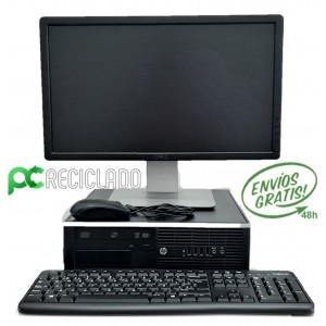 """Ordenador completo - Equipo (HP 6200 4GB) + Monitor (DELL 20"""" P2012HT)"""