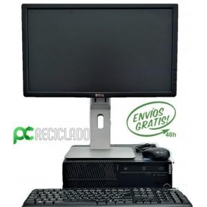 """Ordenador completo - Equipo (LENOVO THINKCENTRE) + Monitor 20"""" (Dell)"""
