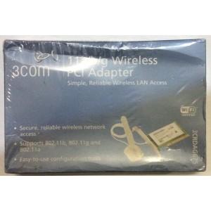 3 COM 11 a/b/g 3CRDAG675 Adaptor inalámbrico PCI - NUEVO -