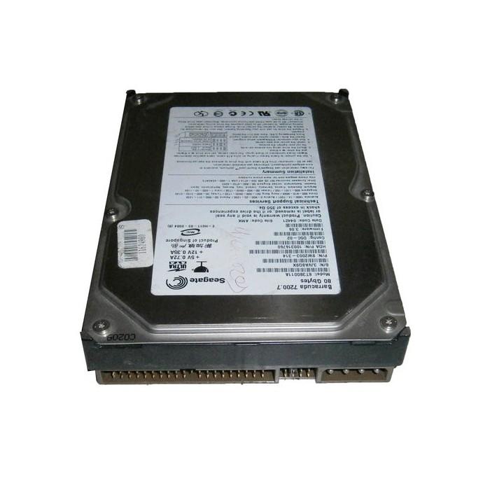 Disco Duro IDE 80Gb 3,5¨ 7200RPM