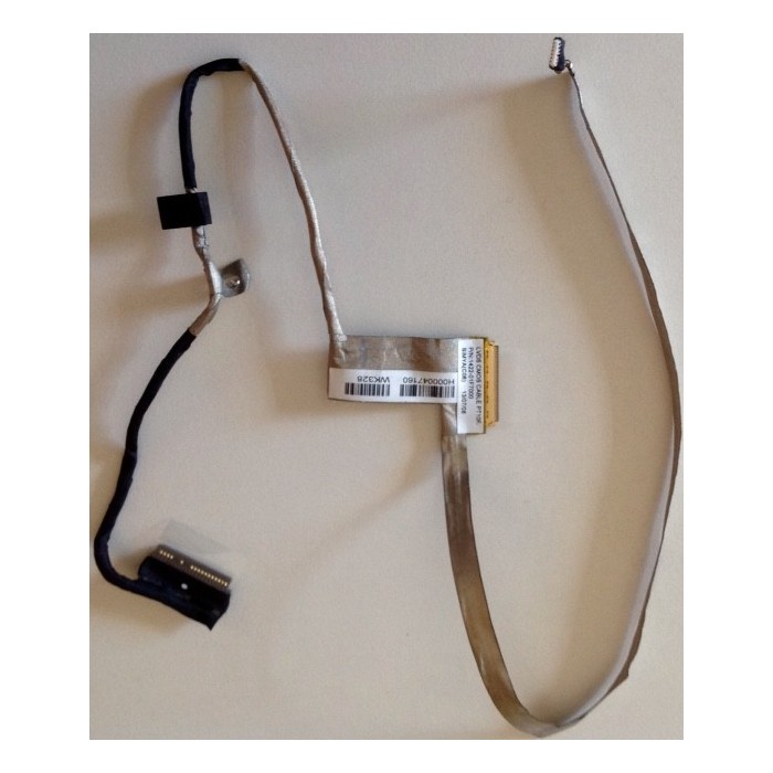 Cable flex de video para Toshiba Satellite C50D y C50 (P/N: 1422-01F7)
