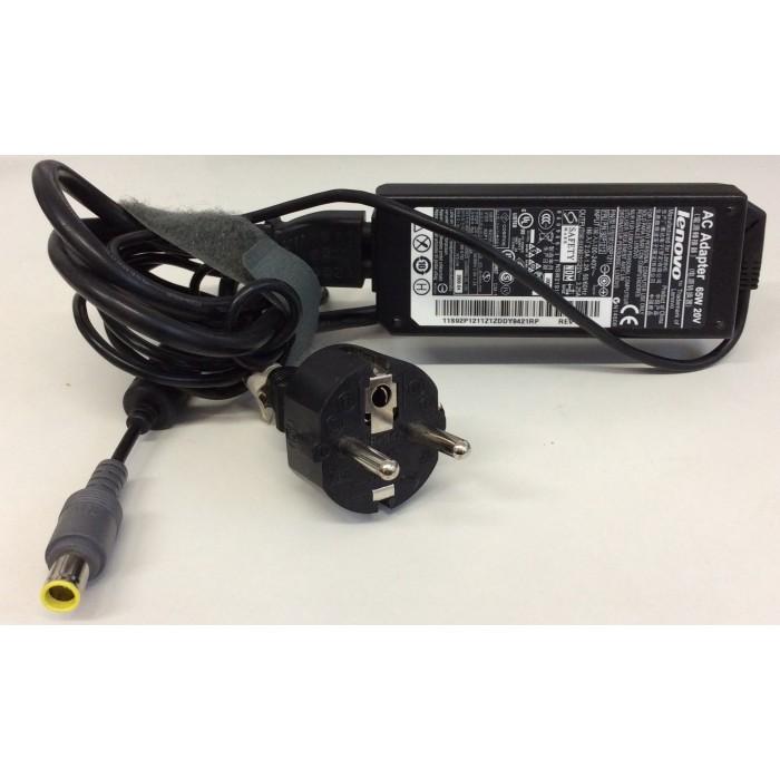 Fuente de alimentación (cargador) para Lenovo 20V 3,25A PIN usado