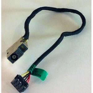 Cable y conector alimentación DC Jack de portátil HP Pavilon 15 Series
