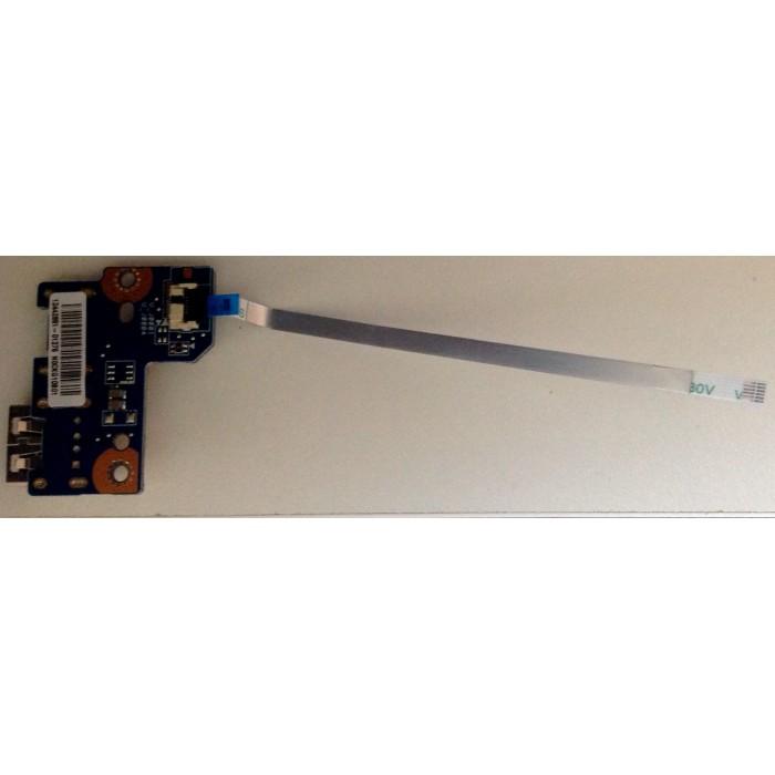 Tarjeta USB con cable N0CKG10801 para portátil Toshiba Satellite C50D