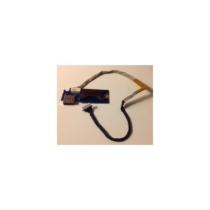 Placa con USB BA92-09694A más cable para Samsung NP530U4C