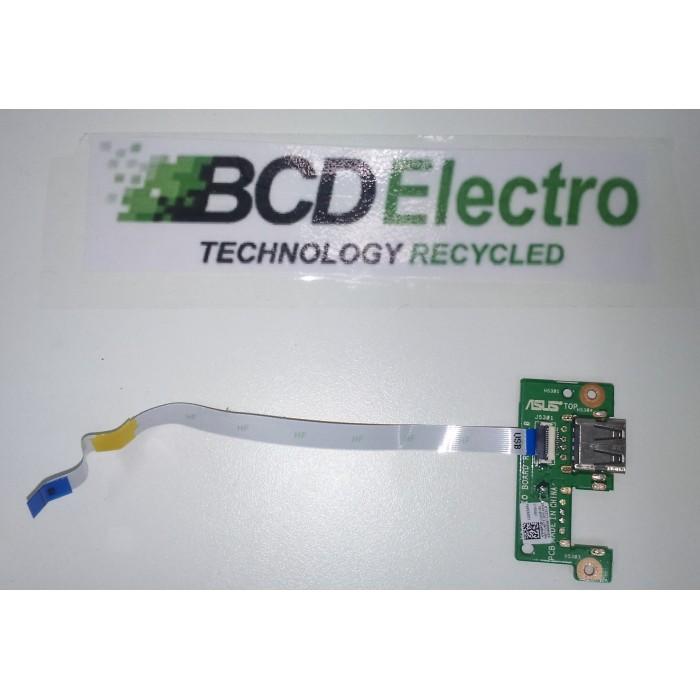 Placa USB para portátil Asus F550C (P/N: 69N0PGB11A00)original usado