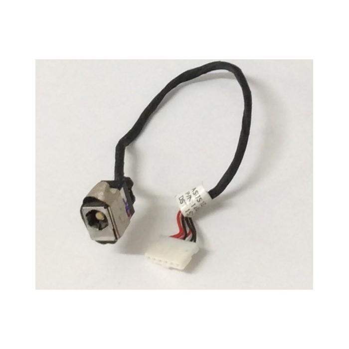 Cable y conector alimentación DC Jack de portátil Asus F552W