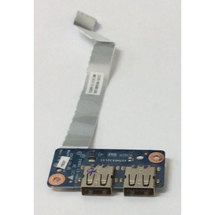 Placa USB LS-A993P para portátil HP-r120np original usada
