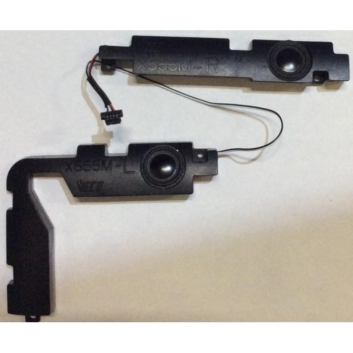 Altavoces (X555M) para portátil Asus K555L original usadas