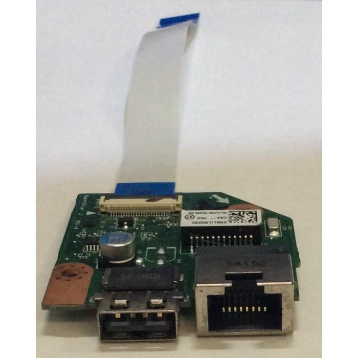 Conexión USB y Ethernet para portátil Toshiba Satellite L 50
