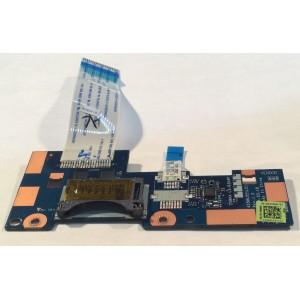 Botones Touchpad más lector de tarjetas SD para portátil Toshiba C 50