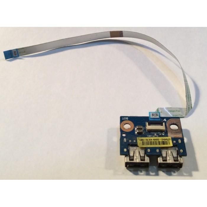Placa USB E220370 para portátil Toshiba Satellite L50-A-165
