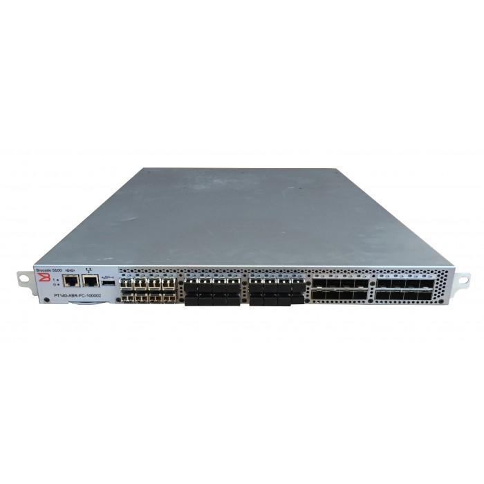 Brocade 5100 (NA-5120-0008) 40 puertos + 24 modulos de 8Gbps