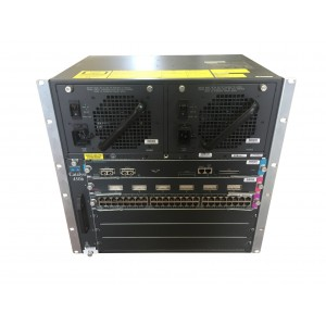 Cisco Catalyst 4506 con WS-X4515 + WS-X4306-BG + WS-X4548-GB-RJ45V