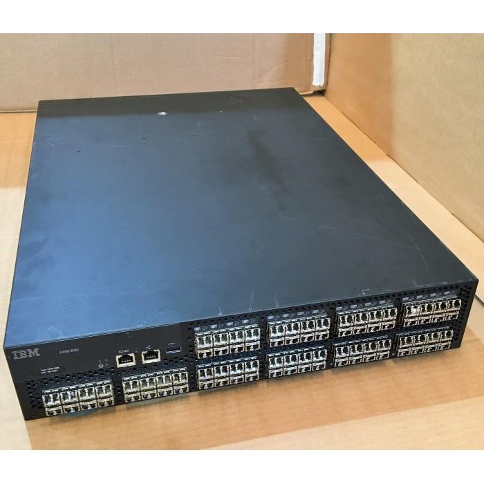 IBM SAN80B-4 Switch SAN Fibre Channel 8Gbps con 80 puertos y SW de 8Gb