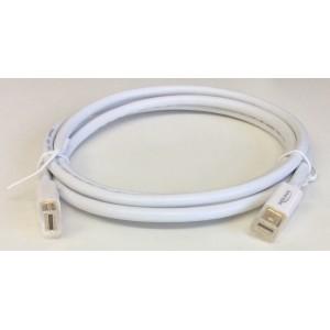 Cable Mini DisplayPort DeLock DP male 1.5M Blanco (82775) - Nuevo