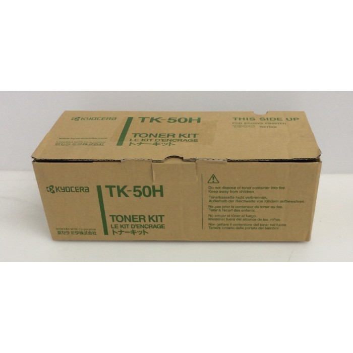 Kyocera TK-50H Tóner Kit color Negro - Nuevo -