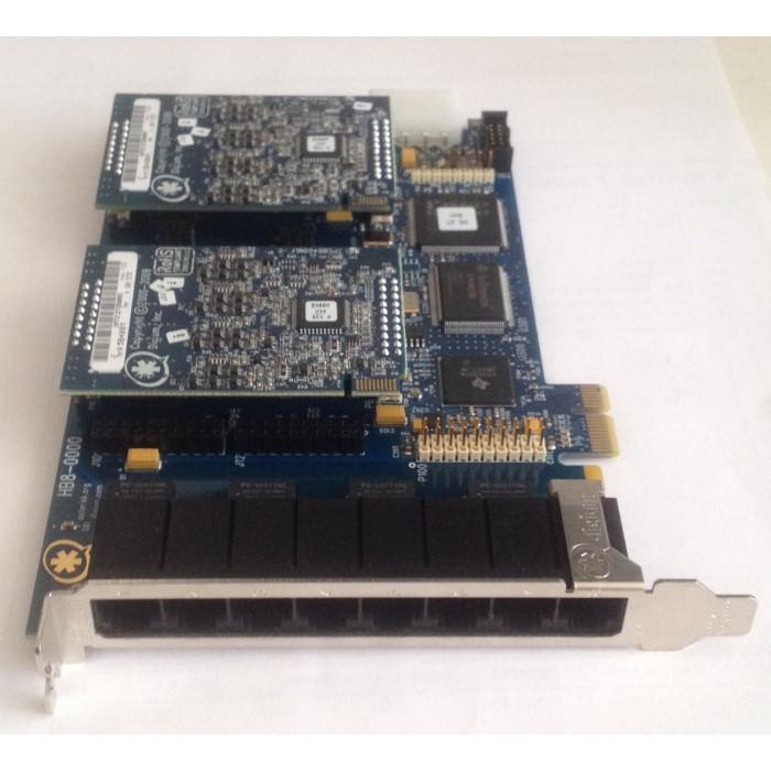 Digium HB8-0000 Eight Port Hybrid PCI-Express x1