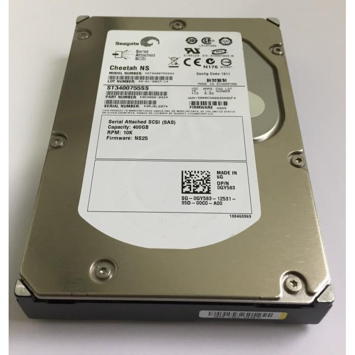 Disco duro SCSI (SAS) 400Gb 3G RPM de 10K - 3.5¨ HDD