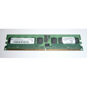 Memoria servidor de 512Mb DDR2 400Mhz PC3200 ECC