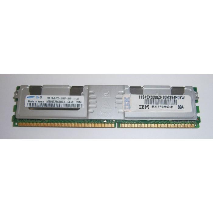Memoria 1Gb 2Rx8 DDR2 555Mhz PC5300F-555-11-B0 ECC