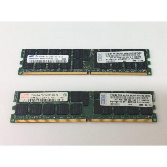 Memoria servidor de 2Gb 2Rx4 DDR2 333Mhz PC3200 ECC