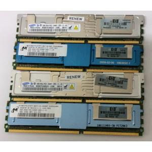 Memoria de servidor de 4Gb 2Rx4 DDR2 667Mhz FB-DIMM PC2-5300F-555