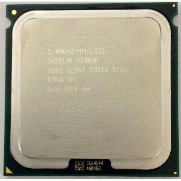 Procesador Intel Xeon 5160 (SL9RT) 3.0Ghz/4M/1333Mhz Socket 771