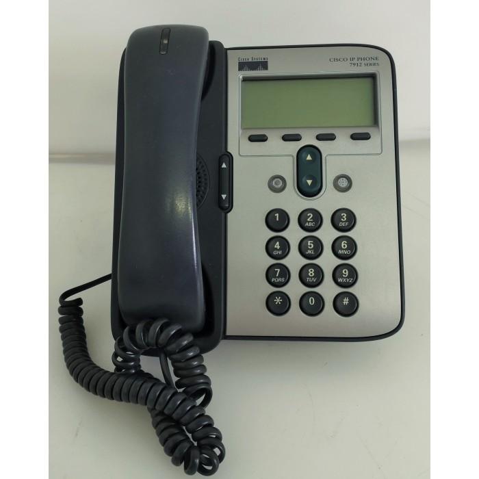Teléfono Cisco IP Phone 7912 Series